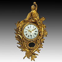 French Louis XV cartel Clocks