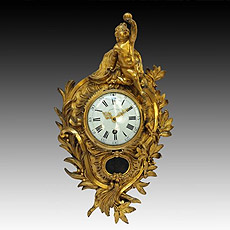 Antiques Cartels and clocks