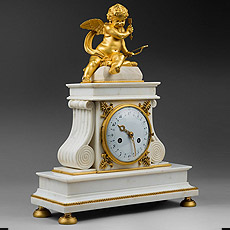 Antiques French Mantel Clocks